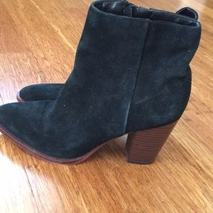 Sam Edelman Suede Leather boots sz 7.5